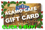 Give Alamo Cafe Gift Cards this Holiday Season